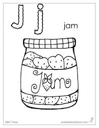 Free Coloring Pages Letter J For