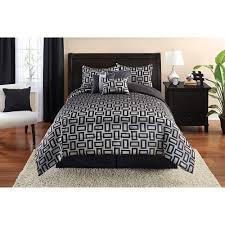 Bed Skirts Queen Walmart by Https Www Walmart Com Ip Mainstays 7 Piece Geo Comforter Set