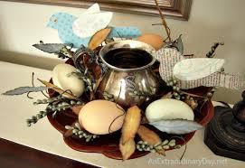 Spring Eggs Birds Create An Earthy Easter Vignette AnExtraordinaryDay
