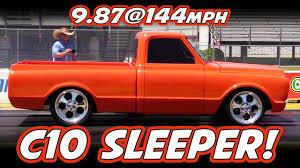 100 C10 Chevy Truck Sleeper Twin Turbo Runs 9s