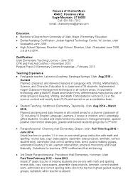 Resume Of Chalise Myers | Dentistry | Secondary School Paraprofessional Resume No Experience Lovely A 40 Student Teacher Aide Resume Sample Lamajasonkellyphotoco Special Education Facebook Lay Chart Cover Letter Sample Literature Review Paraeducator New Lifeguard Job Description For Best Of Free Format Letters Support Worker Unique Example Ideas Collection Law For