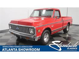 1972 Chevrolet C10 For Sale On ClassicCars.com 1972 Chevrolet C10 Gateway Classic Cars 376hou 110 Chevy Pickup Truck V100 S 4wd Brushed Rtr Black 1970 Hot Rod Network Big Block 4x4 Restored K10 4speed Bring A Trailer Cst 4x4 Stunning Restoration Walk Around Start Orange White Youtube 69 70 Chevy Stepside Pickup Truck Chopped Bagged 20s Sound System Car Audio Lovers Cst10 Matt Garrett Week To Wicked American Legend