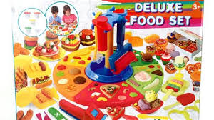 Kitchen Toys R Us 1 Deluxe Food Set Cooking Machine Play Doh