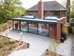 100 Glass Extention New Flat Roof Extension Times