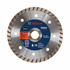 Husky Wet Tile Saw Blade by Shop Bosch 4 1 2 In Wet Or Dry Turbo Diamond Circular Saw Blade At