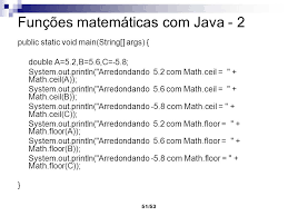 Math Ceil Floor Java by Mathceil Java 8 100 Images Introduction To Java Programming