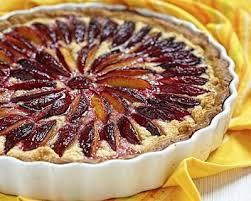 dessert aux quetsches recette recette tarte aux prunes à l amande facile rapide