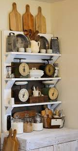 I Would Love A Display Like This In Our New House Somewhere With All Of My Vintage Kitchen Collection Decor The Old Farmhouse Feel