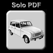 Patio Tuerca Panama Direccion by Renault 4 Manual De Taller Workshop Manual Manuel Reparation