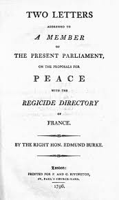 Letters On A Regicide Peace Wikipedia