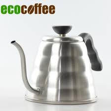 2018 New Free Shipping Ecocoffee Pour Over Kettle Coffee Maker 12L 304 Stainless Steel Gooseneck