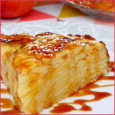 recette dessert aux pommes gâteau invisible aux pommes perle en sucre