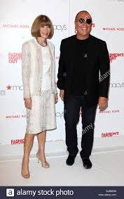 Vogue Editor in Chief Anna Wintour and designer Michael Kors Stock