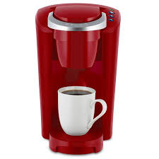 Keurig K Compact Single Serve Cup Pod Coffee Maker Imperial Red