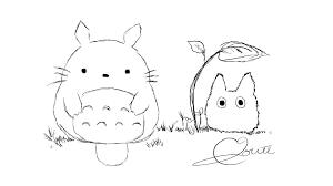 Totoro Printable Coloriage Totoro Cat Bus