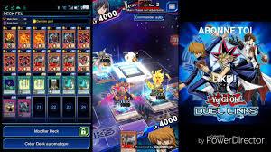 yugioh duel links fire deck goka youtube