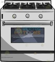 A Gas Stove With Oven