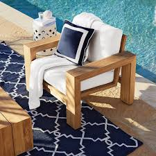Larnaca Outdoor Teak Club Chair