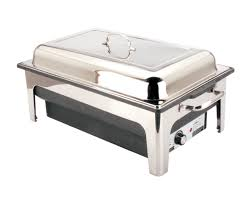 Electric Chafer 135 Ltr Chafing Dish Set For Safe Odour Free Hot Food