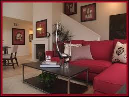Red And Taupe Living Room Ideas by Contemporary Red Couch Decorating Ideas And The Beautiful Interior