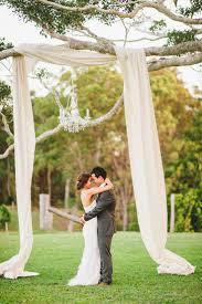Chic Romantic Rustic Country Wedding Altar Ideas