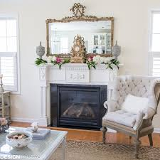 Room Refresh A French Style Chair And A Spring Mantel