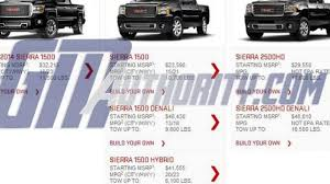 100 Build Your Own Gmc Truck 2014 GMC Sierra Denali Leaks Out Early