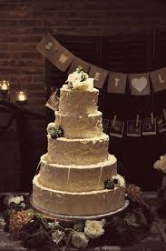 35 Vintage Rustic Wedding Cake