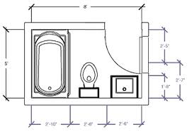 small bathroom floor plans BASEMENT REMODEL Pinterest