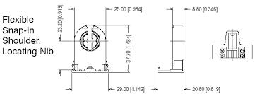 Shunted Bi Pin Lamp Holders by T8 T12 Lampholders Bi Pin Socket G13 Non Shunted Fl204