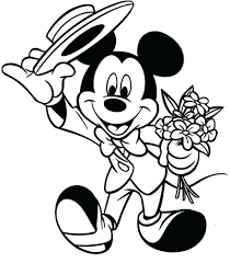 Mickey And Minnie Mouse Halloween Coloring Pages Online Book Christmas Free Full Size