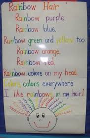 Rainbow Hair Poem FreebieMrs Jumps Class Colorful Cats And Chicka Fun Freebies
