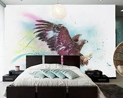 yosot adler malerei kunst flügel fototapete wohnzimmer tv