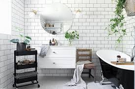 badezimmer in vintage stil mit weißen bild kaufen