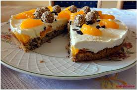 mascarpone frischkäse kuchen mit mandarinen redroselove