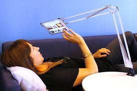 articulating tablet mount from tertial l ikea hackers