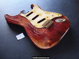 Fender Stratocaster Relic Cherry Red Allparts Replacement Body Made In USA SOLD