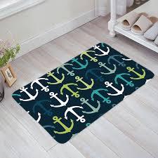anker bunte fußmatten anti slip teppich teppich badezimmer eingang außen boden matte wohnkultur
