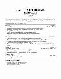 Call Center Agent Resume Complex Sample For Rh Sierraelizabethblog Com Bank