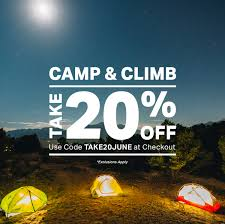 Backcountry.com: 20% Off The Best Camp & Climb Gear | Milled