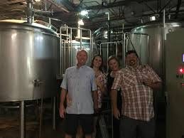 A great outing with friends Picture of Crooked Letter Brewing