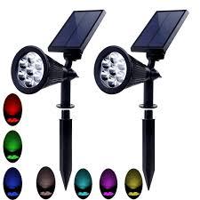 Solar LED Light 196 LED Waterproof Solar Motion Sensor Light