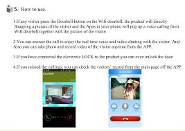Danmini Wf doorbell Intelligent Wireless Wifi Smart Doorbell