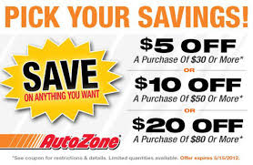 AutoZone $5 Off $30, $10 Off $50 Printable Coupon (expires May 15 ... Autozone Sale Offers 20 Off Coupon Battery Coupons Autozone Avis Rental Car Discounts Autozone Black Friday Ads Deal Doorbusters 2018 Couponshy Coupons For O3 Restaurant San Francisco Coupon In Store Wcco Ding Out Deals More Money Instant Win Games Win Prizes Cash Prize Car Id Code 10 Retail Roundup Travel Codes Promo Deals On Couponsfavcom 70 Off Amazon Code Aug 2122 January 2019 Choices