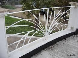 deco fer forge ferronnerie garde corps fer forgé décor jonc balcon ou terrasse la ferode