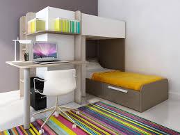 vente unique bureau lits superposés samuel 2x90x190cm 3 coloris option matelas