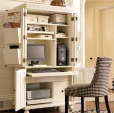 Home Office Solutions That Don't Require An Entire Room! Fniture Green Small Computer Desk Ideas With Doors And Spaces Armoire Create Your Own Space Tips And Inspiration Trendy Design Home Office Stunning Decoration Magnolia By Joanna Gaines Patina Pine Book Drawer Armoires Hutches Amazoncom Sauder Seymour Pottery Barn Winners Only 41 Inches Country Cherry Turned Cabinet Stacy Risenmay Top Hutch