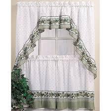 chf you cottage ivy tier kitchen curtains walmart com
