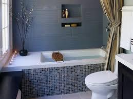 Tiling A Bathroom Floor Around A Toilet by Small Bathrooms Big Design Hgtv