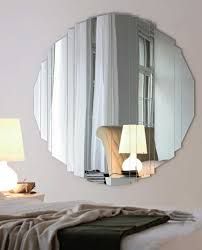 Image Of Large Round Mirror Wall Decor